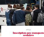 Transports scolaires : début des inscriptions  en ligne le 09/06/2020