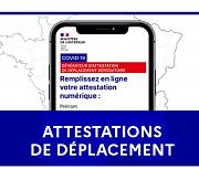 NOUVELLES MESURES GOUVERNEMENTALES À COMPTER DU 03/05/2021